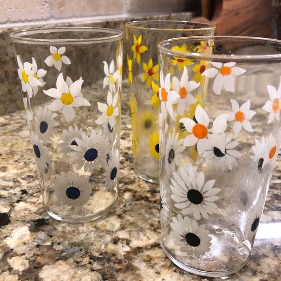 Three Juice Glasses